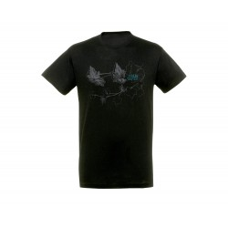 HUNTZA t-shirt black kids