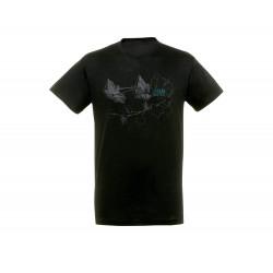HUNTZA t-shirt black loose